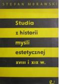 Studia z historii myśli estetycznej XVIII i XIX w