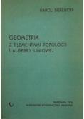 Geometria z elementami topologii i algebry liniowej