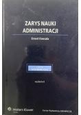 Zarys nauki administracji