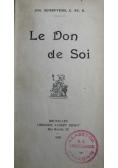 Le Don de Soi 1920 r.