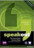 Speakout Pre Intermediate Students Book z płytą DVD