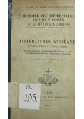 Litteratures Anciennes 1900 r.
