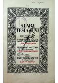 Pismo Święte Stary Testament 1927 r