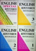 English repetytorium tematyczno leksykalne 4 tomy