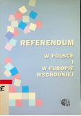 Referendum w Polsce i w Europie Wschodniej