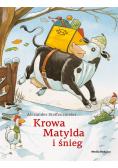 Krowa Matylda i śnieg