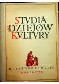 Studia z dziejów kultury polskiej 1949 r