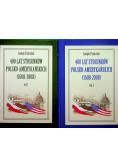 400 lat stosunków polsko - amerykańskich 1608 - 2008 2 Tomy plus autograf Pastusiaka