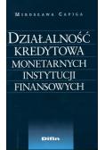 Działalność kredytowa monetarnych instytucji finansowych