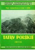 Tatry Polskie Ornak