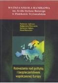 Rozważania nad polityką i bezpieczeństwem współczesnej Europy