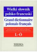 Wielki słownik polsko francuski Tom II L - Ó