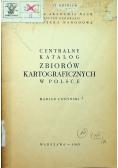 Centralny katalog zbiorów kartograficznych w Polsce