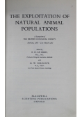 The Exploitation of Natural Animal Populations