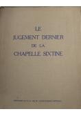 Le Jugement Dernier da la Chapelle Sixtine