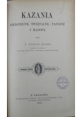 Kazania niedzielne świętalne pasyjne i majowe 1887 r.