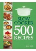 Slow Cooker 500 reccipes