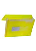 Teczka harmonijkowa z gumką nar. A4 żółt. BT621-Y