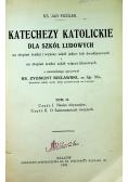 Katechezy katolickie dla szkół ludowych tom II 1922r