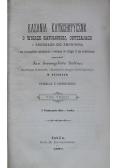 Kazania katechetyczne o wierze katolickiej tom 3 1897 r.