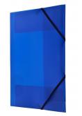 Teczka z gumką nar. A4 niebieska BT624-N