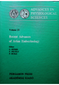 Recent Advances of Avian Endocrinology