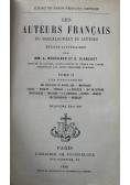Les Auteurs Francais Tome II 1898 r.