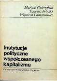 Instytucje polityczne współczesnego kapitalizmu
