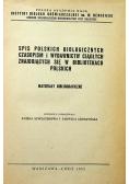 Spis polskich czasopism i wydawnictw ciągłych znajdujących się w bibliotekach polskich
