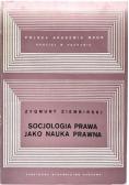 Socjologia prawa jako nauka prawna
