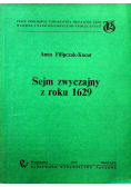 Sejm zwyczajny z roku 1629