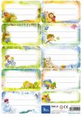Naklejki na zeszyty (25 ark.) KN001-08
