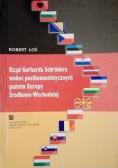 Rząd Gerharda Schrodera wobec postkomunistycznych państw Europy Środkowo Wschodniej