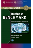 Business Benchmark Pre Intermediate to Intermediate Personal Study Book