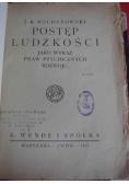 Postęp ludzkości jako wyraz praw psychicznych rozwoju 1917 r
