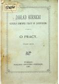 O pracy 1902 r
