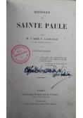 Histoire de Sainte Paule 1868 r.