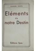 Elements de notre Destin 1934 r