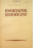 Kwartalnik historyczny Rocznik LXXXVI Nr 3