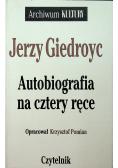 Autobiografia na cztery ręce