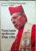 Wyszyński Nauczanie społeczne 1946 1981