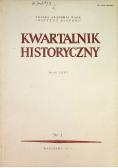 Kwartalnik historyczny Rocznik LXXXVI Nr 1