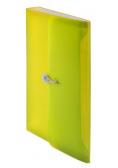 Teczka harmonijkowa z gumką A4 żółt. BT622-Y