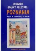 Słownik gwary miejskiej Poznania