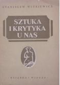 Sztuka i krytyka u nas 1949 r.