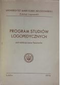 Program studiów logopedycznych