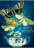 Karnet B6 z kopertą Urodziny Ćmy