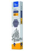 Ołówek PIXELL heksag.twar.B2 12szt. KV060-B2