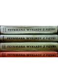 Feynmana wykłady z fizyki 4 tomy
