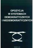 Opozycja w systemach demokratycznych i niedemokratycznych